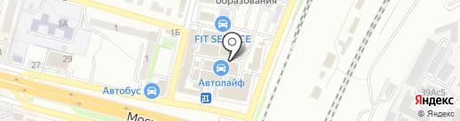 Магазин автозапчастей для ВАЗ на карте Брянска