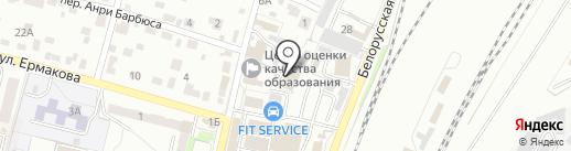 Понар на карте Брянска