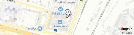 Магазин авторезины на карте Брянска