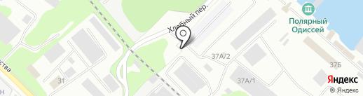 Карат, ЗАО на карте Петрозаводска