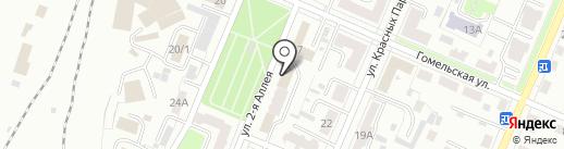 Брянская транспортная прокуратура на карте Брянска