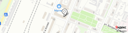 ИСМ на карте Брянска