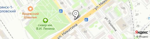 Экспресс-Ломбард Плюс на карте Брянска