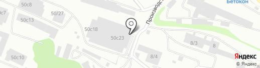 МиА на карте Петрозаводска