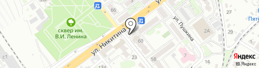 Сеть магазинов канцтоваров на карте Брянска