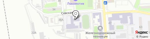Средняя общеобразовательная школа №41 на карте Брянска