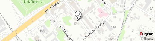 Автомойка на карте Брянска