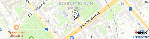 Натали, магазин женской одежды на карте Брянска
