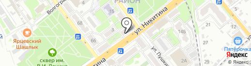 Банкомат, Банк Хоум Кредит на карте Брянска