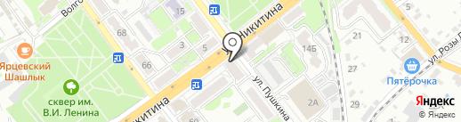 Почтовое отделение №21 на карте Брянска
