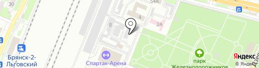 Рубикон, ЗАО на карте Брянска