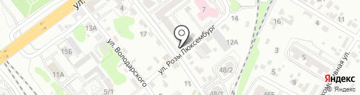 Нотариус Волокитина Л.Н. на карте Брянска