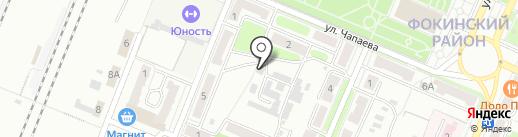 Коммунистическая партия РФ на карте Брянска