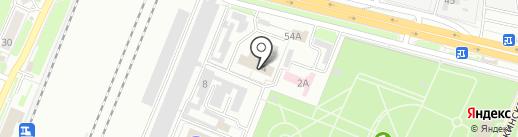 Брянский линейный отдел МВД РФ на транспорте на карте Брянска