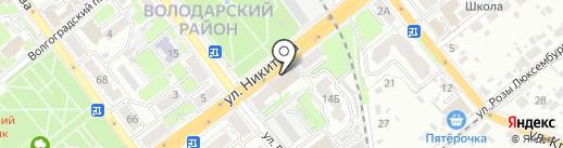 Рослесинфорг на карте Брянска