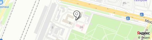 Центр гигиены и эпидемиологии по железнодорожному транспорту на карте Брянска