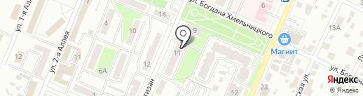 Детская библиотека №3 на карте Брянска