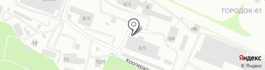 Металлист, ЗАО на карте Петрозаводска