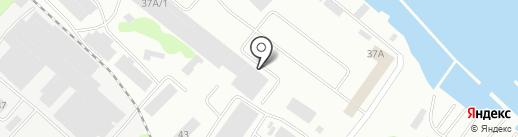 Тэрфэр на карте Петрозаводска