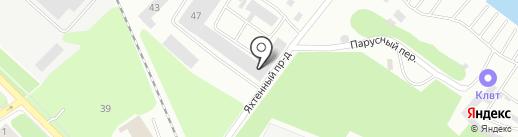 Авто-Профи на карте Петрозаводска