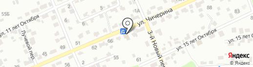 Сельстрой на карте Брянска