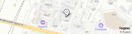 Рыбный магазин на карте Брянска