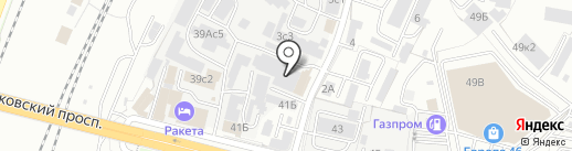Магазин бытовой химии на карте Брянска