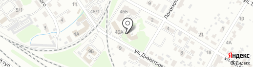 Дом детского творчества Володарского района на карте Брянска