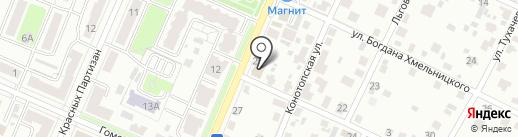 Карго-Сервис на карте Брянска