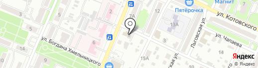 SPARTA на карте Брянска