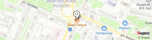 Магазин товаров для дома и ремонта на карте Брянска