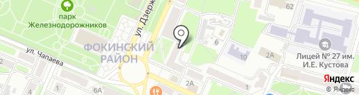 Аварийная замочная служба на карте Брянска
