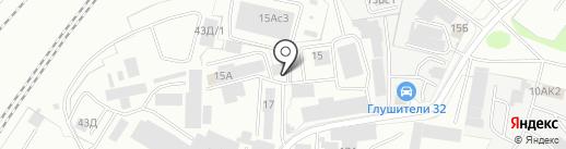 СРБП БелМетТранс на карте Брянска