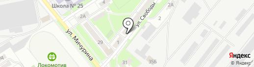 Риэлторское агентство на карте Брянска
