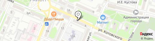 ЗдравСити на карте Брянска