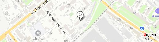 Домашняя кондитерская на карте Брянска