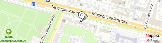 Юридическая Консультация на карте Брянска