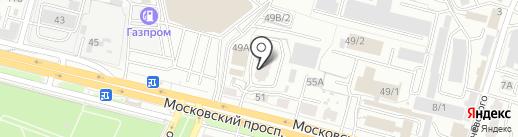Академия жилья на карте Брянска