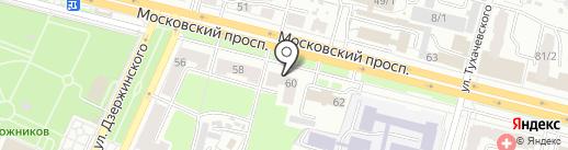 ЗАГС Фокинского района на карте Брянска