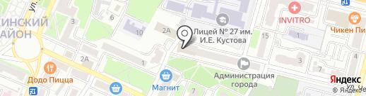 Доктор Котовский на карте Брянска