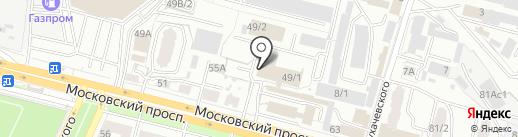 Фирма по оказанию юридической помощи на карте Брянска