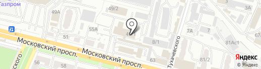 Фабрика торгового оборудования на карте Брянска
