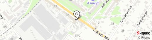 Ван на карте Брянска