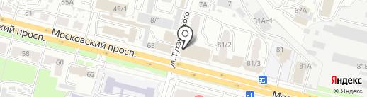 МирОйл на карте Брянска