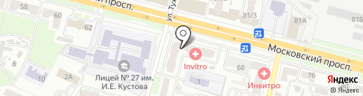 Магазин армейского камуфляжа на карте Брянска