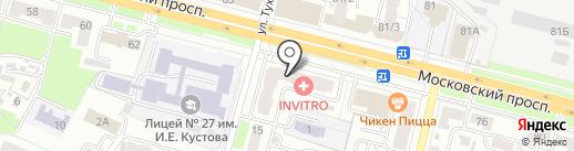 Дом одежды на карте Брянска