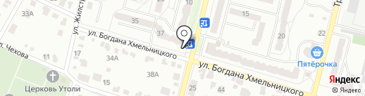 Корзинка, продуктовый магазин на карте Брянска