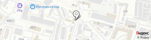Магазин канцелярских товаров на карте Брянска