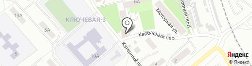 Ремонтная мастерская на карте Петрозаводска