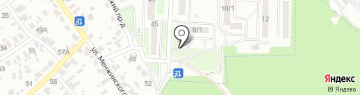 Комплект на карте Брянска
